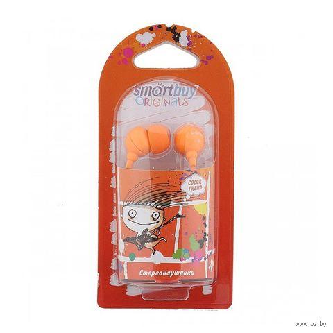 Наушники SmartBuy COLOR TREND (Orange) — фото, картинка