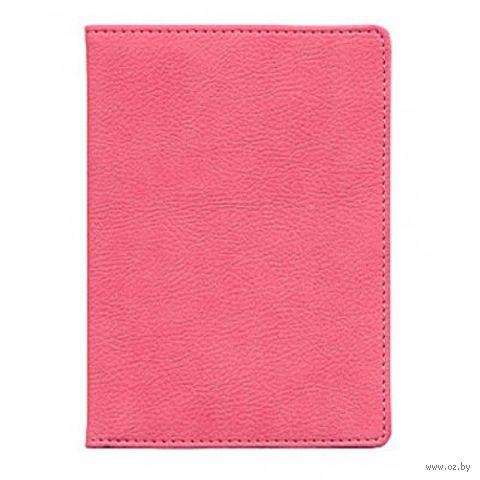 "Обложка для паспорта Time/System ""Aston"" (dark pink)"