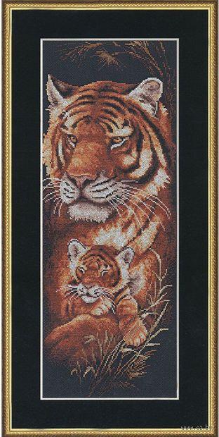 "Вышивка крестом ""Тигрица"""