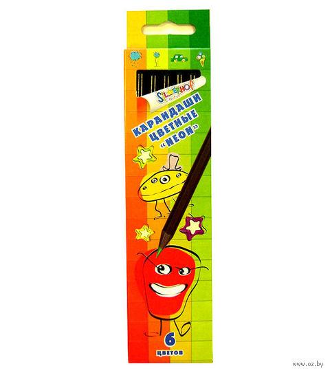 """Набор карандашей цветных """"Neon. Emotion Creative"""" (6 цветов)"""