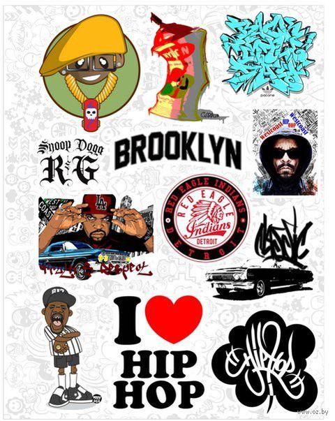 """Набор виниловых наклеек №545 """"Hip hop"""""""