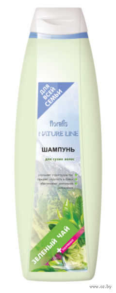 """Шампунь для волос """"Зеленый чай"""" (750 мл)"""