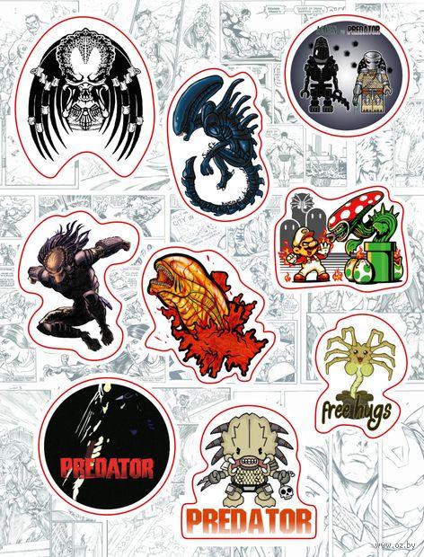"Набор виниловых наклеек №160 ""Alien vs Predator"""