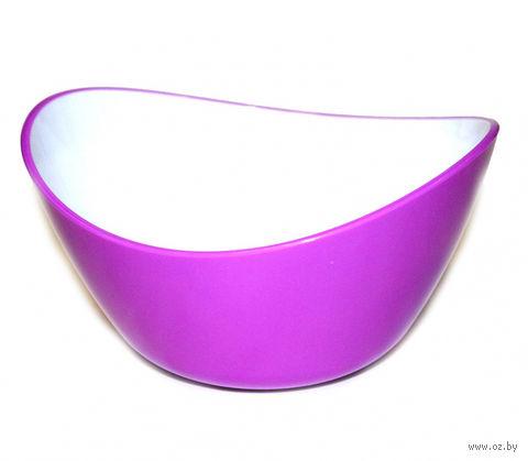 Миска пластмассовая (0,5 л; фиолетовая) — фото, картинка