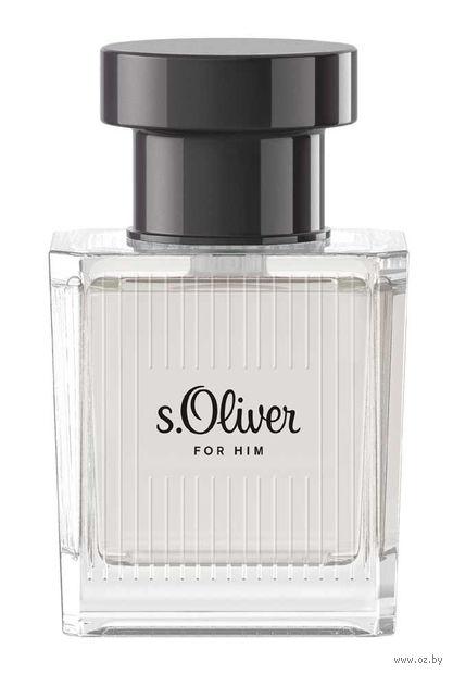 "Туалетная вода для мужчин ""s.Oliver For Him"" (50 мл) — фото, картинка"