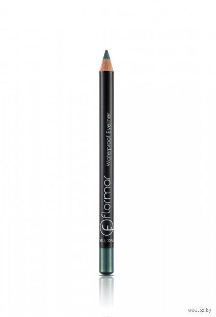 "Карандаш для глаз ""Waterproof Eyeliner"" водостойкий (тон: 115, pastel green) — фото, картинка"