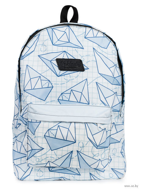 "Рюкзак ""Кораблики"" (15 л; белый) — фото, картинка"