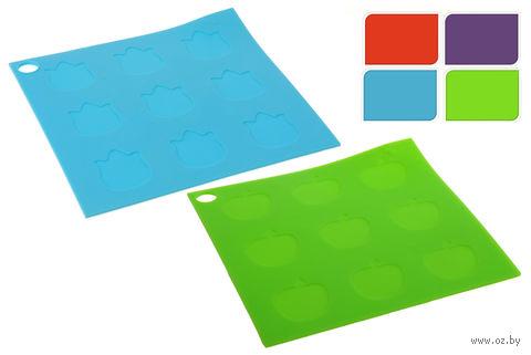 Подставка под горячее силиконовая (170х170 мм; квадратная) — фото, картинка