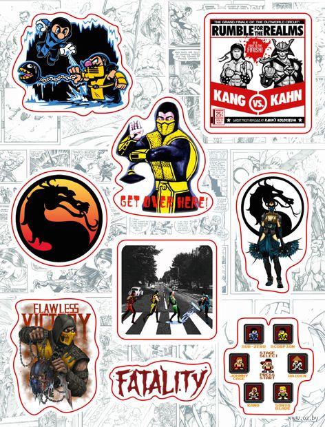 """Набор виниловых наклеек №161 """"Mortal Kombat"""" — фото, картинка"""