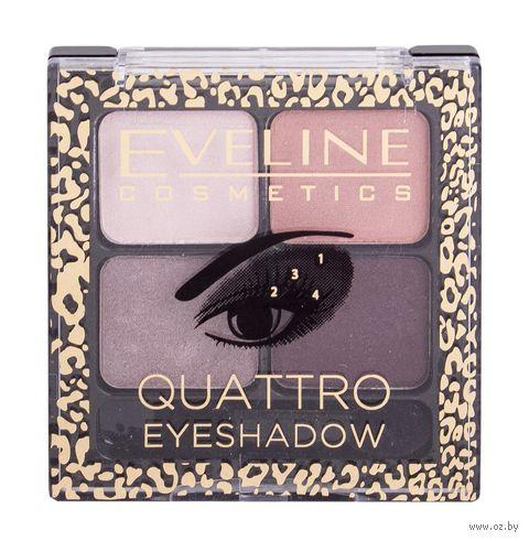 "Палетка теней для век ""Quattro"" (тон: 12) — фото, картинка"