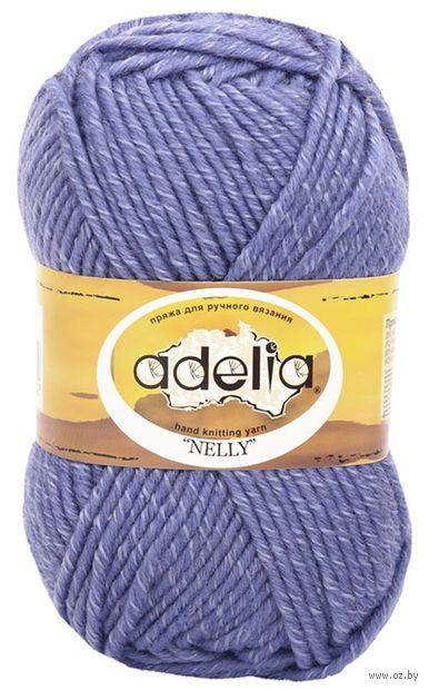 """Пряжа """"Adelia. Nelly №23"""" (100 г; 100 м; светло-синий) — фото, картинка"""