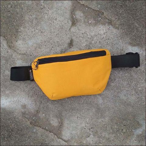 Сумка поясная (желтая; арт. B-105) — фото, картинка
