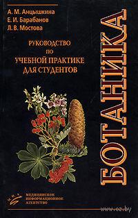 Ботаника. Руководство по учебной практике для студентов. Алла Анцышкина, Евгений Барабанов