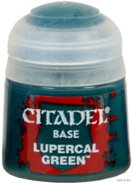 "Краска акриловая ""Citadel Base"" (lupercal green; 12 мл) — фото, картинка"