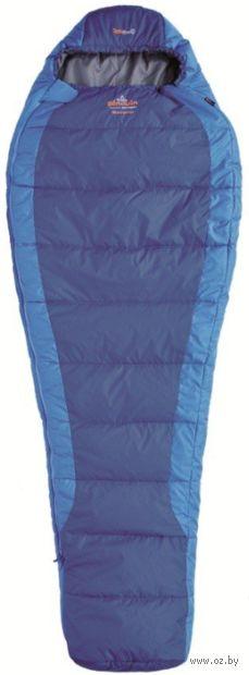 """Спальный мешок """"Savana 185"""" (R; синий) — фото, картинка"""