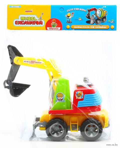 "Трактор-экскаватор ""Wheel"" — фото, картинка"
