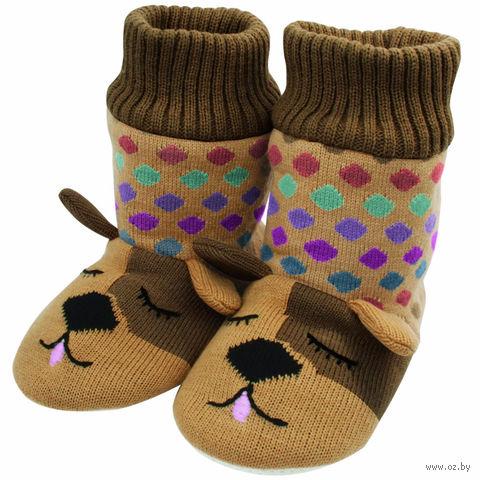 """Тапочки-носочки вязаные Fun For Feet """"Собаки"""""""