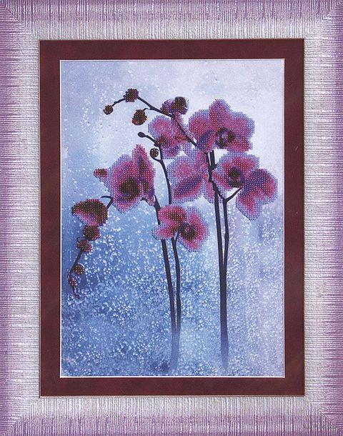 """Вышивка бисером """"Дикая орхидея"""""""