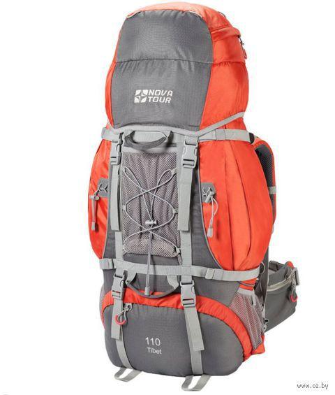 "Рюкзак ""Тибет 110"" (110 л; серо-оранжевый) — фото, картинка"
