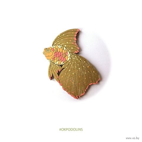 "Значок ""Рыбка"" (арт. 95-4) — фото, картинка"