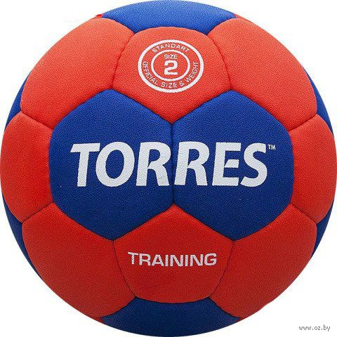 """Мяч гандбольный Torres """"Training"""" №2 — фото, картинка"""