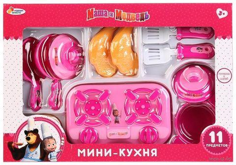 """Игровой набор """"Маша и Медведь. Мини-кухня"""" — фото, картинка"""
