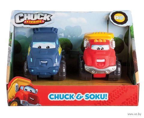 """Набор машинок """"Chuck & Friends"""" (2 шт.) — фото, картинка"""