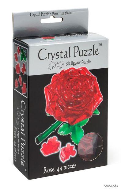 """Пазл """"3D. Красная роза"""" (44 элемента) — фото, картинка"""