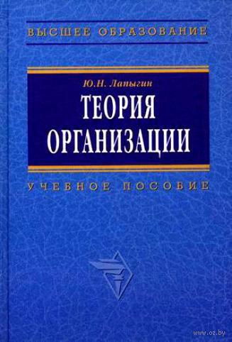 Теория организации. Юрий Лапыгин