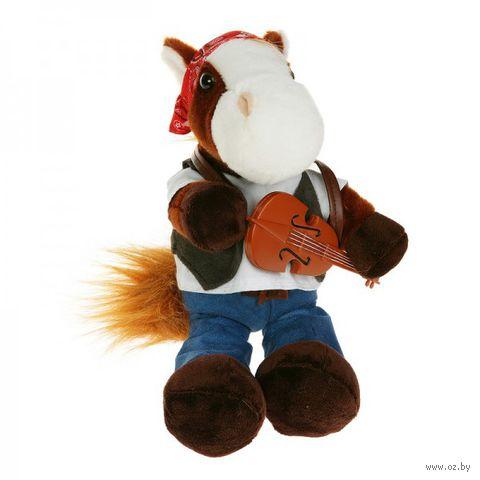 """Мягкая игрушка """"Конь-музыкант"""" (20 см)"""