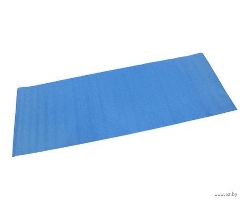 """Коврик для фитнеса """"Йогамат"""" (синий) — фото, картинка"""