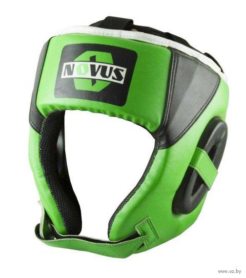 Шлем боксёрский (L; зелёный; арт. LTB-16321) — фото, картинка