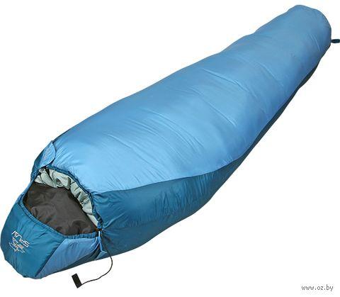 """Спальный мешок """"Trial Light 100"""" (220x80x55 см; R; голубой) — фото, картинка"""