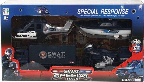 "Набор машинок ""Swat special"" (арт. 999-054B) — фото, картинка"