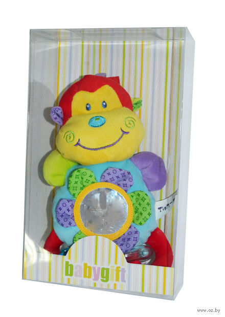 """Мягкая игрушка """"Смешные зверята"""" (с зеркальцем) — фото, картинка"""