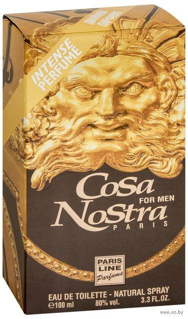 """Туалетная вода для мужчин """"Cosa Nostra"""" (100 мл) — фото, картинка"""