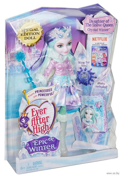 "Кукла ""Ever After High. Заколдованная зима. Кристал Винтер"""