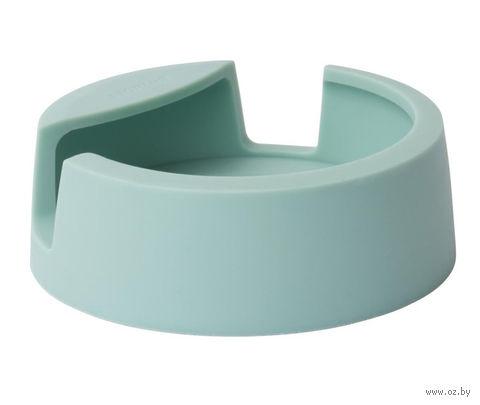 Подставка для ложки силиконовая (мятная) — фото, картинка