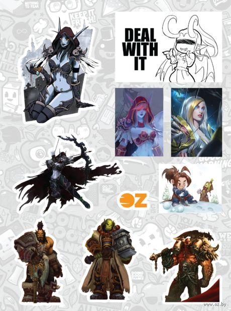 "Набор наклеек ""Warcraft"" — фото, картинка"