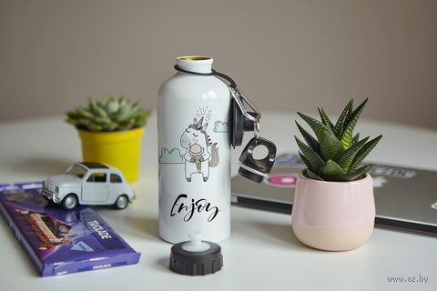 "Бутылка ""Enjoy"" (600 мл; арт. 80) — фото, картинка"