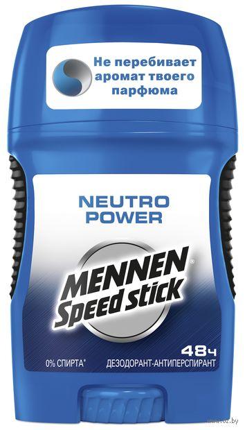"""Дезодорант-антиперспирант для мужчин """"Neutro Power"""" (стик; 50 г) — фото, картинка"""