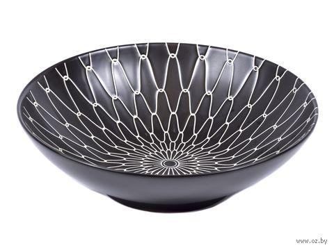 Салатник керамический (215 мм; арт. S10853-BK01) — фото, картинка
