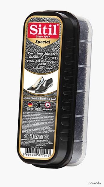 Губка для обуви (черная) — фото, картинка