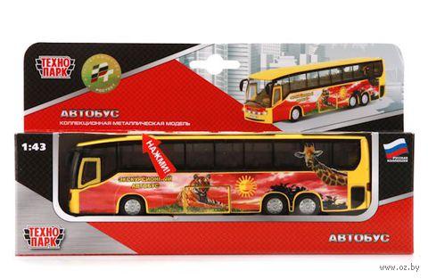 """Модель машины """"Экскурсионный автобус. Зоопарк"""" (масштаб: 1/43)"""