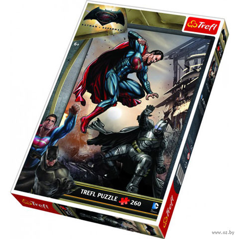 "Пазл ""Бетмен против Супермена"" (260 элементов) — фото, картинка"