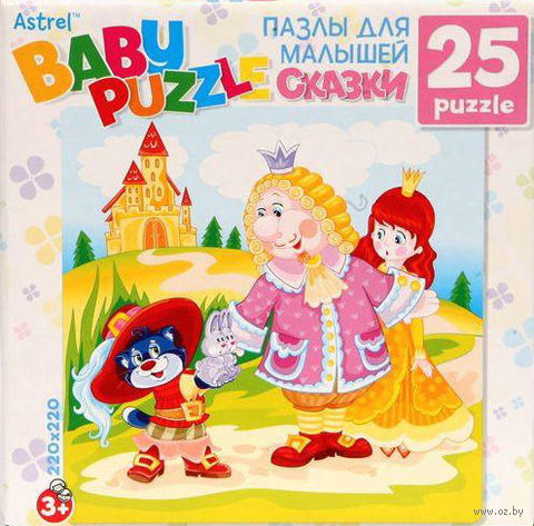 "Пазл ""Baby Puzzle. Кот в сапогах"" (25 элементов) — фото, картинка"