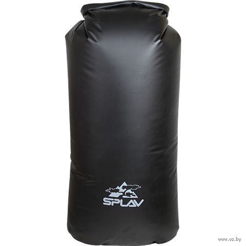 Гермомешок походный большой (40 л; чёрный) — фото, картинка