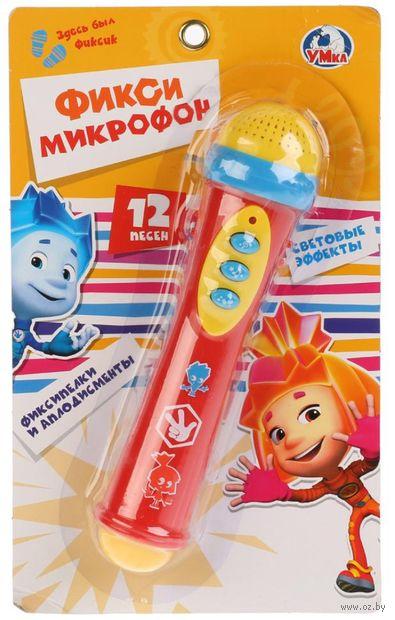 """Музыкальная игрушка """"Фиксики. Микрофон"""" (со световыми эффектами) — фото, картинка"""