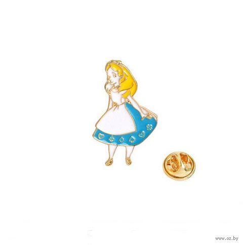"""Значок-пин """"Алиса в Стране чудес"""" — фото, картинка"""