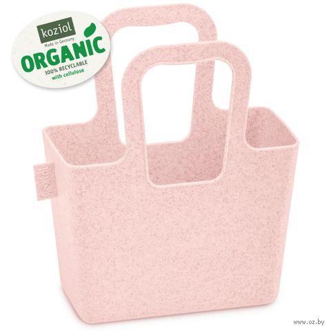 "Корзина ""Taschelini Organic"" (розовая) — фото, картинка"